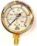JRA-Longlife Manómetro de glicerina 0-25 bar Conexión diámetro 63, inferior G1/4'
