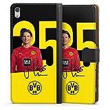 Etui Compatible avec Sony Xperia XA Ultra Etui Folio Etui magnetique Borussia Dortmund BVB...