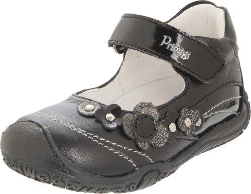 Primigi Kadj 1-E Mary Jane (Infant/Toddler),Nero Leather (5049377),19 EU (3-3.5 M US Infant)