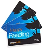 Amazon.com $100 Gift Cards, Pack of 3 (Amazon Kindle Card Design)