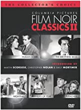 Columbia Pictures Film Noir Classics II: (Human Desire / The Brothers Rico / Nightfall / City of Fear / Pushover)