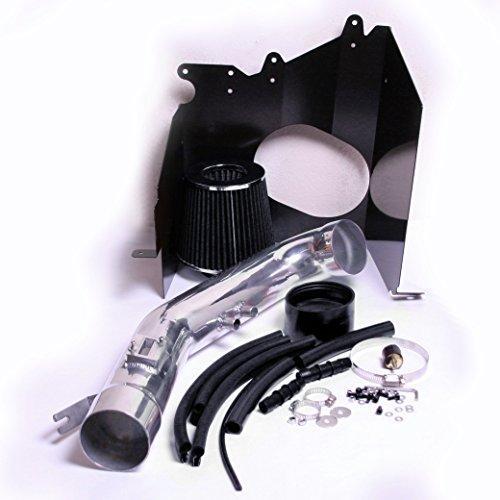 PERFORMANCE HEATSHIELD COLD AIR INTAKE KIT + FILTER FOR 2004-2015 Nissan Titan Armada / 2004-2010 Infiniti Qx56 5.6 5.6l V8 ENGINE (BLACK)