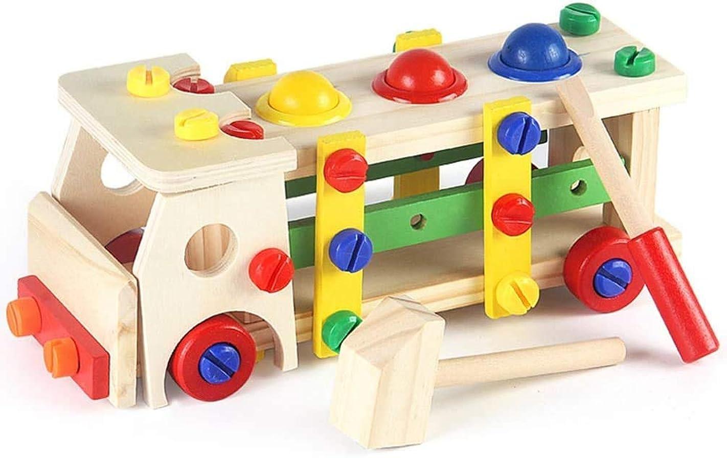 雰囲気広告ファセット大工さん | 大工さん ツール エンジニアになる 組み立て 玩具 木製 ねじ回し/ハンマーなど 工具ごっこ遊び おままごと 早期開発 子供 キッズ トイ DIY セット 3歳/4歳/5歳/6歳