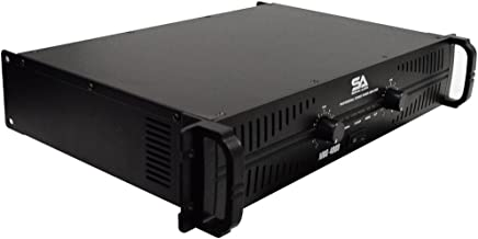 Seismic Audio - MBG-4000 - Power Amplifier - 2 x 500 Watts at 8 Ohms - 2 x 1000 Watts at 4 ohms - Amp