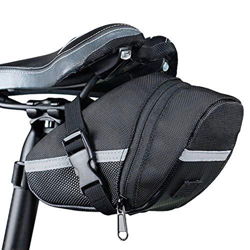Bolsa de Herramientas para Sillin y Tija de Bicicleta Impermeable MTB Bici 2957