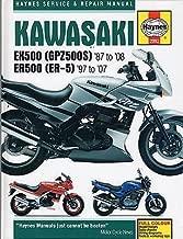 1987-2007 HAYNES KAWASAKI EX500 (GPZ500) & ER500 (ER-5) SERVICE MANUAL (2052)
