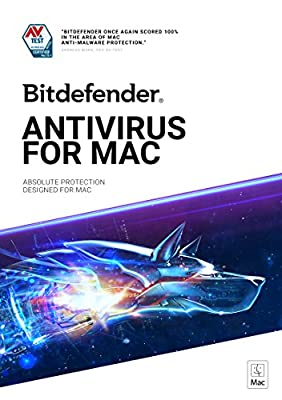 Bitdefender Antivirus for Mac - 3 Devices | 2 year Subscription | Mac Activation Code by email