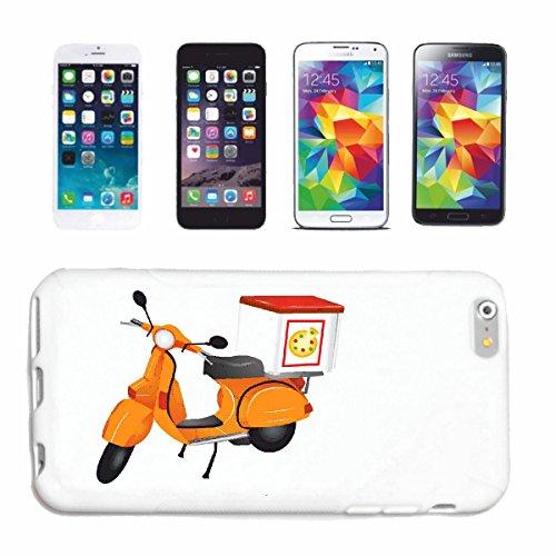 Reifen-Markt Hard Cover - Funda para teléfono móvil Compatible con Apple iPhone 5 / 5S Pizza Pizza Caja DE Llevar Servicio DE Servicio DE Pizza Race Carreras de Fó