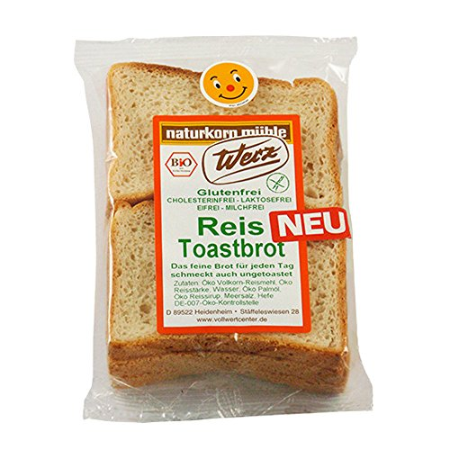 Werz Reis Toastbrot glutenfrei