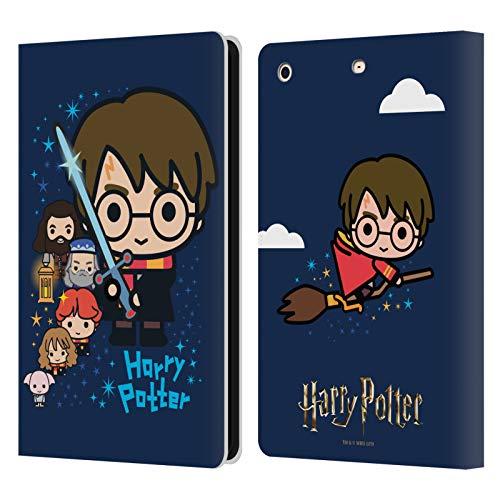 Head Case Designs Oficial Harry Potter Personajes Deathly Hallows I Carcasa de Cuero Tipo Libro Compatible con Apple iPad Mini 1 / Mini 2 / Mini 3