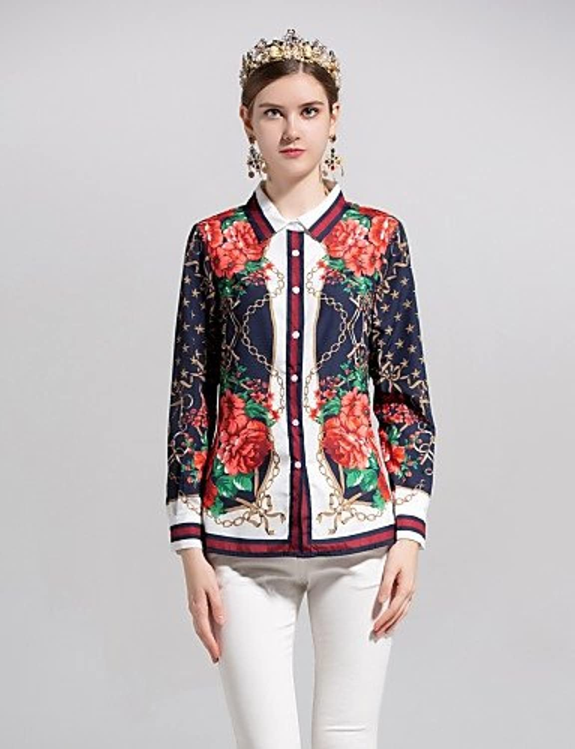 By Megyn Women's Active Basic Shirt  Solid colord Floral