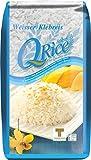 Q Rice Arroz Pegajoso 1000 g - Lot de 2