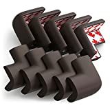 Eoney Corner Guards | Corner Protectors for Baby Safety | Furniture Table Safety Bumper | with 3M Tape(10 Pack)