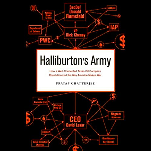 Halliburton's Army audiobook cover art