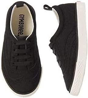 Gymboree 小男孩翼尖一脚蹬牛津鞋,黑色,10 M