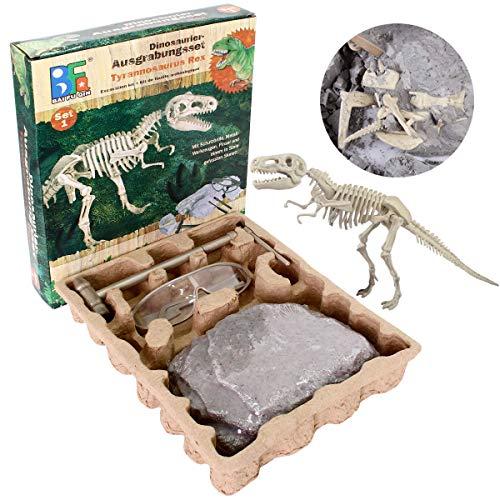 SZSMD Ausgrabungsset für Kinder, Dino Ausgrabungs Set Tyrannosaurus Rex, Paläontologie & Archäologie Educational Birthday Party Geschenk für Kinder