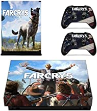 Mr Wonderful Skin Xbox One X Skin Set Vinyl Decal Skin Stickers Protective for Xbox One X Console Kinect 2 Controllers - Shooter game