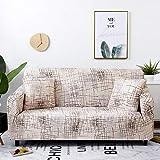 WXQY Funda de sofá elástica geométrica para Sala de Estar, Moderna, a Prueba de Polvo, a Prueba de Polvo, Silla, Funda de sofá en Forma de L, A12, 1 Plaza
