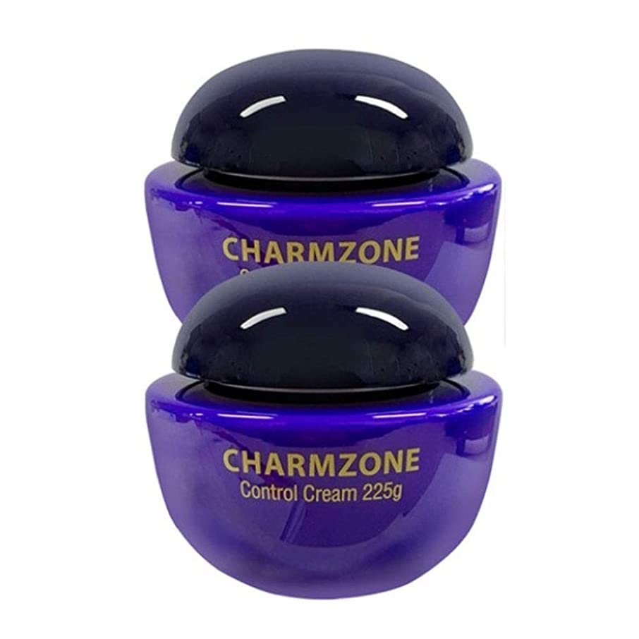 細い指紋いつもチャムジョンコントロールクリームマッサージクリーム225g x 2本セット、Charmzone Control Cream 225g x 2ea Set [並行輸入品]