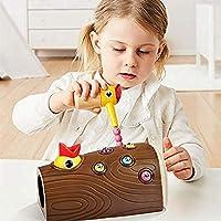 Earlyad Picchio Giocattolo educativo precoce Picchio Magnetico Che Cattura Insetti Giocattolo Sviluppa coordinazione Occhio-Mano e abilità motorie Fini - Regalo di Compleanno per Bambini di efficient #6