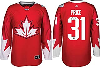 3687d878c Frameworth Carey Price Signed Jersey Replica Canada 2016 World Cup -  Autographed Soccer Jerseys