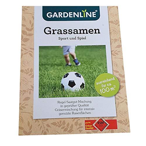 move Grassamen - Regel-Saatgut-Mischung in geprüfter Qualität - Rasen 2,5-kg=100m²