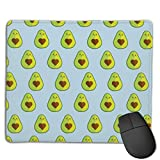 Gaming Mousepad Avocado Heart Seed 2 Medium Cloth Surface Mousepad
