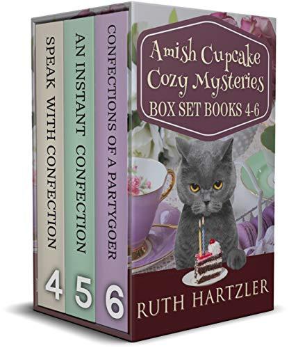 Amish Cupcake Cozy Mystery Box Set Books 4-6 (Amish Cupcake Cozy Mystery Series Boxset Book 2) by [Ruth Hartzler]