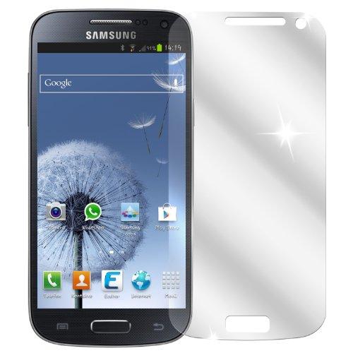 dipos I 2X Schutzfolie klar kompatibel mit Samsung Galaxy S4 Mini Folie Displayschutzfolie