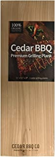 Cedar BBQ Premium Cedar Grilling Planks - 2 Piece Set - 5.5