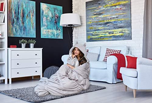 Chic Home - Schlafsäcke in grau, Größe 32 x 75