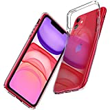 Spigen Coque iPhone 11 [Liquid Crystal] Transparent, Mince, Légère, Ajustement Parfait, Protection...