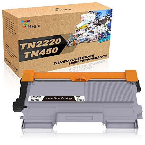 7Magic TN2220 TN2010 Toner, Sostituzione Cartuccia Toner Compatibile per Brother MFC-7360N MFC-7460DN DCP-7055 DCP-7060D DCP-7065DN HL-2240 HL-2130 HL-2132 HL-2135W HL-2240 HL-2250DN (Nero, 1-pack)