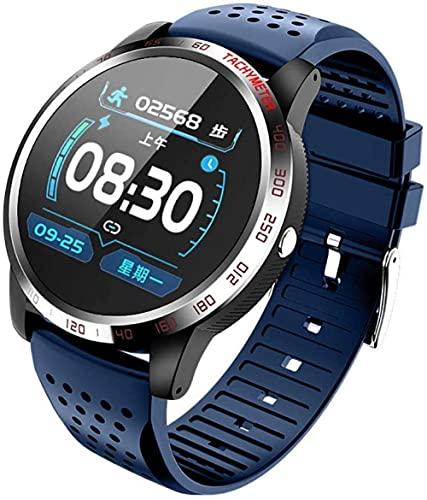 Reloj inteligente ECG + PPG IP67 resistente al agua, monitor de frecuencia cardíaca, presión arterial para hombre, reloj deportivo de fitness - 4