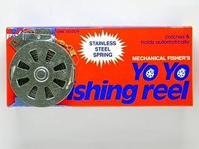 12 Mechanical Fisher's Yo Yo Fishing Reels (Flat Trigger...