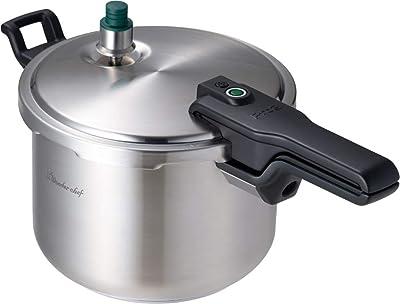ワンダーシェフ Pro2 圧力鍋 6.0L ZPSA60 640994 シルバー