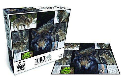 Lobos, Puzzle de 1000 Piezas (087)