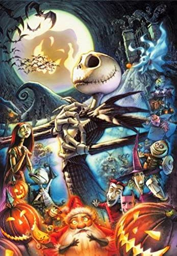 1000 Peace Art of The Nightmare Before Christmas D-1000-285 (japan import)