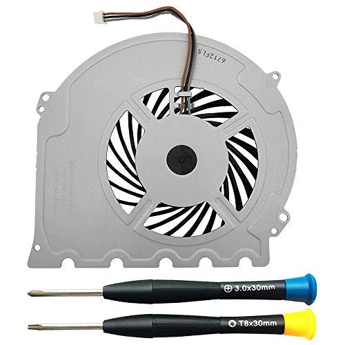 MMOBIEL Ventilador de refrigeración interna KSB0912HD / G85G12MS1AN-56J14 Reemplazo para la PlayStation PS4 Slim 3-Pins Incl. TR8 y (+) Destornilladores