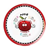 Healthy Kiddos Fruits and Vegetables Plates Apple 1 Pack | Nutrition, Weight Loss, Diabetic, Healthy Eating Plate