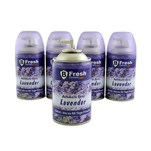 250ml LAVENDEL Lufterfrischer, Nachfüller, Duftspender, Raumduft, Duftspray, Duftdose - für automatische Duftspender