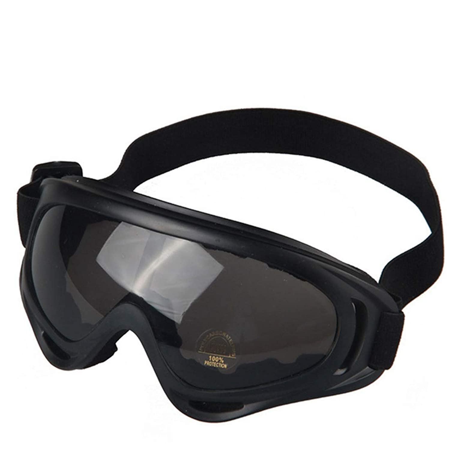 Exquisite Goggles Outdoor Sports Glasses Motorcycles Windbreak Goggles Riding Cross-Country Goggles Ski Goggles (Color : Gray Lens)