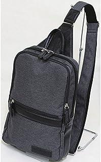 十川鞄 B.C.+ISHUTAL イシュタル ネイサン ボディバッグ ワンショルダーバッグ ブラック INA-4904-BK