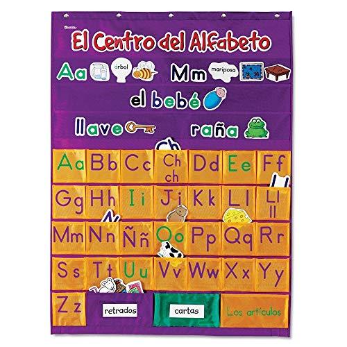 Learning Resources Spanish Alphabet Pocket Chart