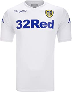 532caa5c4 Kappa 2018-2019 Leeds United Home Football Soccer T-Shirt Maglia