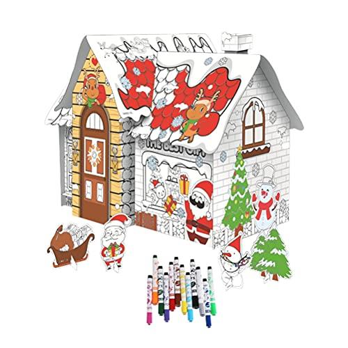 3D Puzzle Mini Haus Modell...