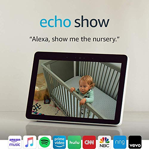 "Echo Show -- Premium 10.1"" HD smart display with Alexa – stay connected with video calling - Sandstone"