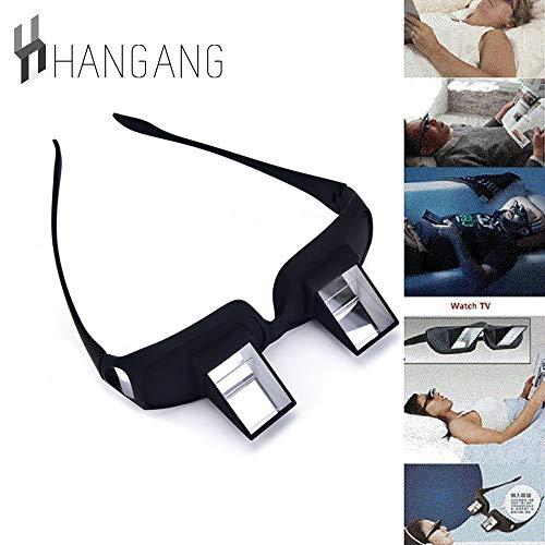 hangang Prisma Gafas de cama Prisma Horizontal Gafas Lazy Spectacles sdraiati para ligeros/Guardare la TV de grandes dimensiones