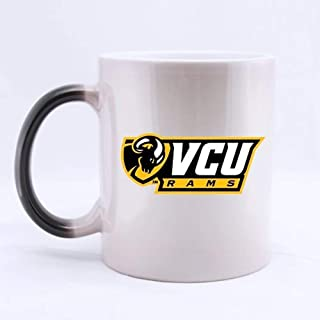 Mug Café,VCU Rams Logo Diseño personalizado Morphing Mug Coffee Tea Cup 11 OZ