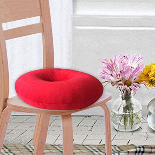 Autositz, Anti-Dekubitus, Latex-Ring-Pad, Donut-Pad, zurücklehnen, Ischias, geeignet für Bürostühle,Rose